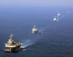 US Navy rules the waves