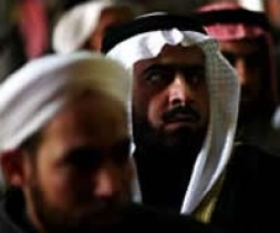 A group of Sunni Arab sheiks listened to speeches last month at a rally of a Sunni coalition, the Iraqi…