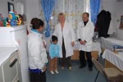 PHOTO 3: Dr. Rada Trajkovic in the Gracanica Clinic