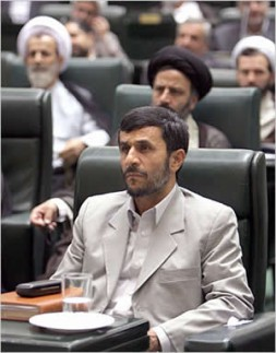 President Mahmoud Ahmadinejad has become the voice of Iran's conservative government.