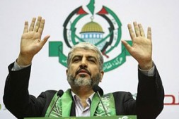 """""""This meeting in Damascus demonstrated even more political clout by the presence of Khaled Meshal, Hamas's Damascus-based political bureau chief"""""""