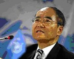 UNESCO Chief Matsuura Koichiro
