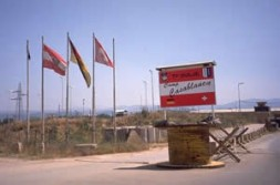 "SWISSCOY camp ""Casablanca"" in the vicinity of Suva Reka."