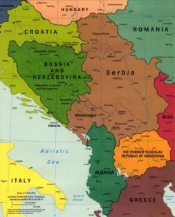 """""""Compared to the Middle East or Southwest Asia, the Balkans have been relatively forgotten as a front in the West'…"""