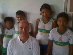 """Happy kids at school: """"The education level in Brazil is breathtaking poor above the early grades of school. With no…"""