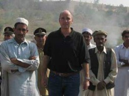 "Dr. Hubertus Hoffmann, President of the World Security Network Foundation, in the Tribal Areas in Pakistan: ""The 'scorpion strategy' is…"