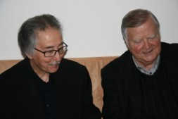 Former Iranian President Abu I-Hasan Banisadr (left) met the Global-Editor-in-Chief of the World Security Network Foundation BrigGen (ret) Dieter Farwick…