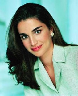 """""""Queen Rania of Jordan represents the new Arab world, full of positive energies, women's power, optimism, friendship and openness to…"""