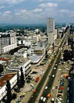 Kinshasa - the hub of conflicts.