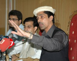 "Habib Malik Orakzai, Chairman of the Mutahida Qabail Party (MQP) and President of Pakistan's International Human Rights Organization (PIHRO): ""There…"