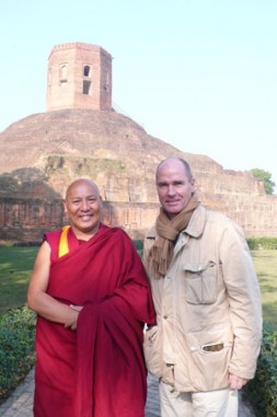 Dr. Hubertus Hoffmann meets the Tibetan monk Lhakdor, a close aid to his Holiness the Dalai Lama, and the director…