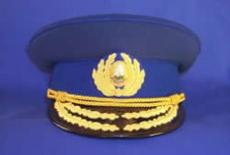 The parade cap of a Securitate general.
