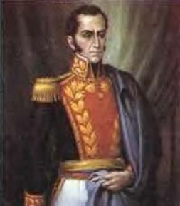 """""""Simón Bolívar brought till 1824 the independence to the whole South American region"""""""