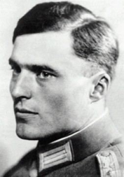 Oberst Graf Stauffenberg tried to kill the German dictator Adolf Hitler with the moral right of resistance as his legitimaton.