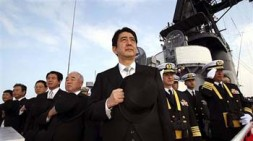 """""""Japanese Prime Minister Abe wants to allow the nation to play a greater role in the international security arena, especially…"""