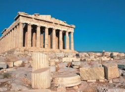 The Acropolis in Athens: The Greek right of resistance against a tyrant was a citizen's obligation.
