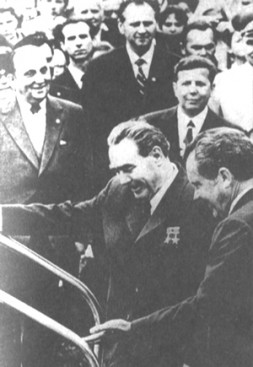 Georgi Arbatov - close to the President Breshnev and then President Nixon