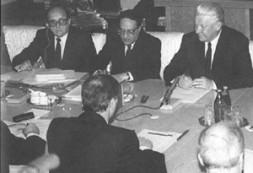 Georgi Arbatov - aide of then President Boris Yeltsin