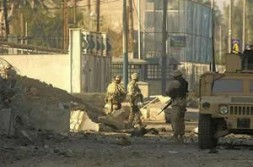 Australian soldiers in Iraq - strong allies in the coalition of the willing.
