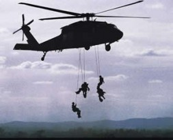 Training for special operations.