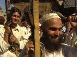 An anti-Taleban village militia in Bajaur - but will the idea catch on?