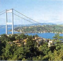 Bosporus - bridging Europe and Asia.