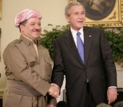 "In October 25, 2005, President George Bush welcomed Massoud Barzani, the President of the Kurdistan regional government of Iraq: ""America,…"