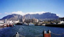 Capetown - a metropolis in the South, republic of South Africa