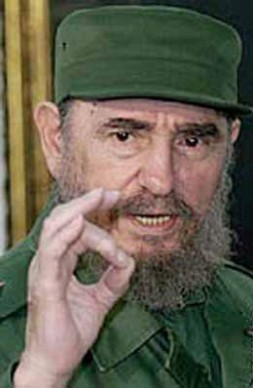 "Fidel! It's time to say ""Goodbye!"""
