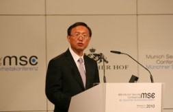 """Yang Jiechi, Chinese Foreign Minister: """"A more developed China will undertake more international responsibilities"""""""