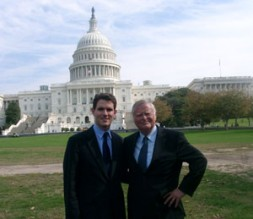 """WSN Global Editor Dieter Farwick with Jonathan F. Porter, WSN Editor U.S.A. """"Will we continue down the path of recent…"""