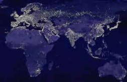 Europe shines - just at night ?