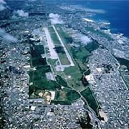 Futenma US Air base on Okinawa.