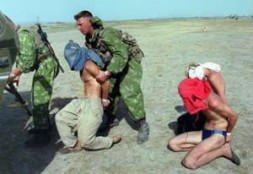 The ongoing war in Chechnya - Russia's nightmare.