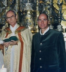 Archbishop Alfons Nossol with WSN-Founder Dr. Hubertus Hoffmann