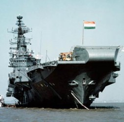 """""""In this policy of containment India's navy plays a vital role."""""""