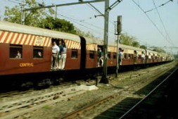 India's railway system - non reliable but overcrowded.