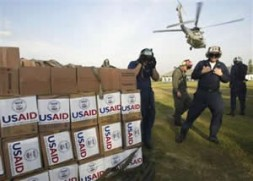 US aid - quick and efficient