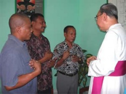 Three Catholics, Fabianus Tibo, Dominggus Da Silva and Marinus Riwu from Indonesia are in the danger to be executed within…