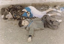"""""""In March 1988 more than 5,000 people were killed in the city of Halabja in the largest use of chemical…"""