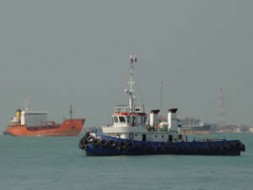 Tug-boats are a favored target of pirates in the Malacca Straits.
