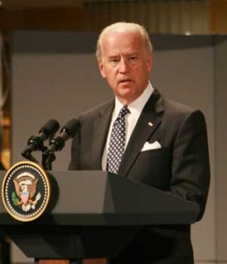 """U.S. Vice President Joe Biden: """"There's no solution in Afghanistan without Pakistan and its tribal areas."""""""