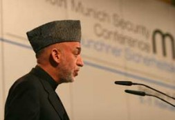 """Hamid Karzai, President Islamic Republic of Afghanistan: """"The war in Afghanistan is not a war of choice, but a war…"""