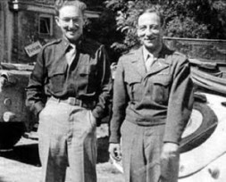 Pentagon Strategist, Missionary and Mentor Fritz Kraemer-here with his talent Henry Kissinger (left) in 1945 as U.S. soldier in Germany…