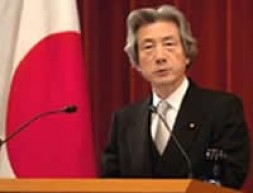 """Koizumi at his press conference on Jan 4, 2006: """"I have never tried to close dialogue with China and South…"""
