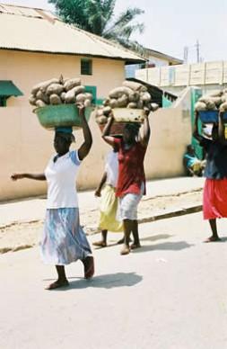 African women - under a heavy burden