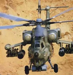 """""""Helicopters can support the combat units with their high flexibility and the capability of surprise attacks from various directions"""""""
