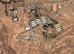 Satellite image of Iran's military facilities in Parchin - bomb production or peaceful?