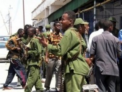 """""""With massive military support from Ethiopia the transitional government managed to escape looming defeat."""""""