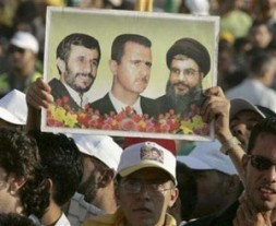 """""""The 2010 meeting in Damascus between President Bashar Asad,Sheikh Hassan Nasrallah and President Ahmadinejad was meant to provide the world…"""